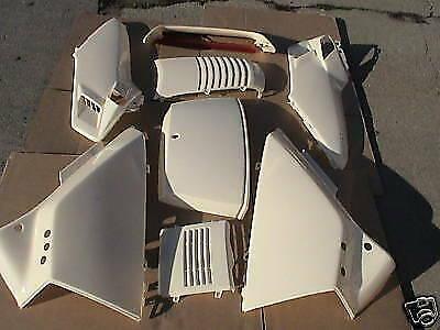 COMPLETE SET OF UNPAINTED + Repaintable HONDA HELI