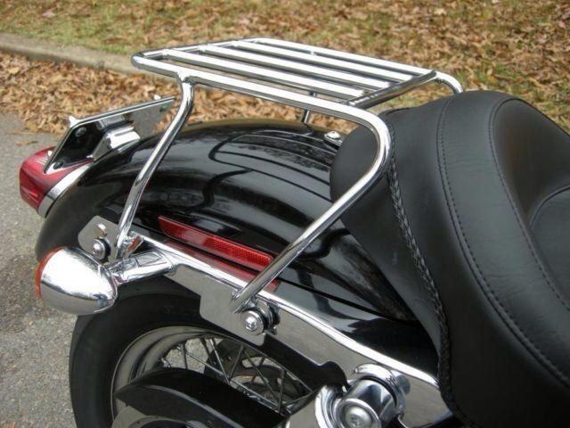 Harley Touring Solo Detachable Luggage Rack