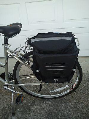 BIG CARBON FIBER BICYCLE bag panniers Bianchi Cann