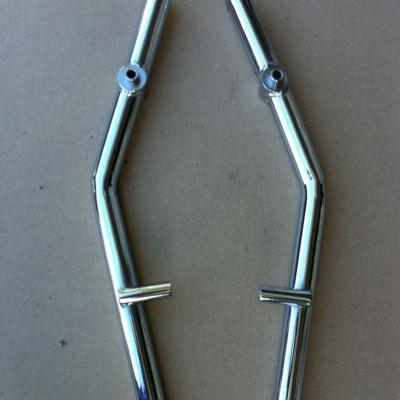 Big Chrome Honda Helix Passenger Grap Bar CN250 Fu