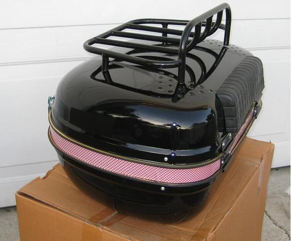 Trunk And Rack For Yamaha Tmax Scooter
