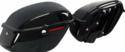 Vivid Black Hard Saddlebags fit 1994-2003 Harley