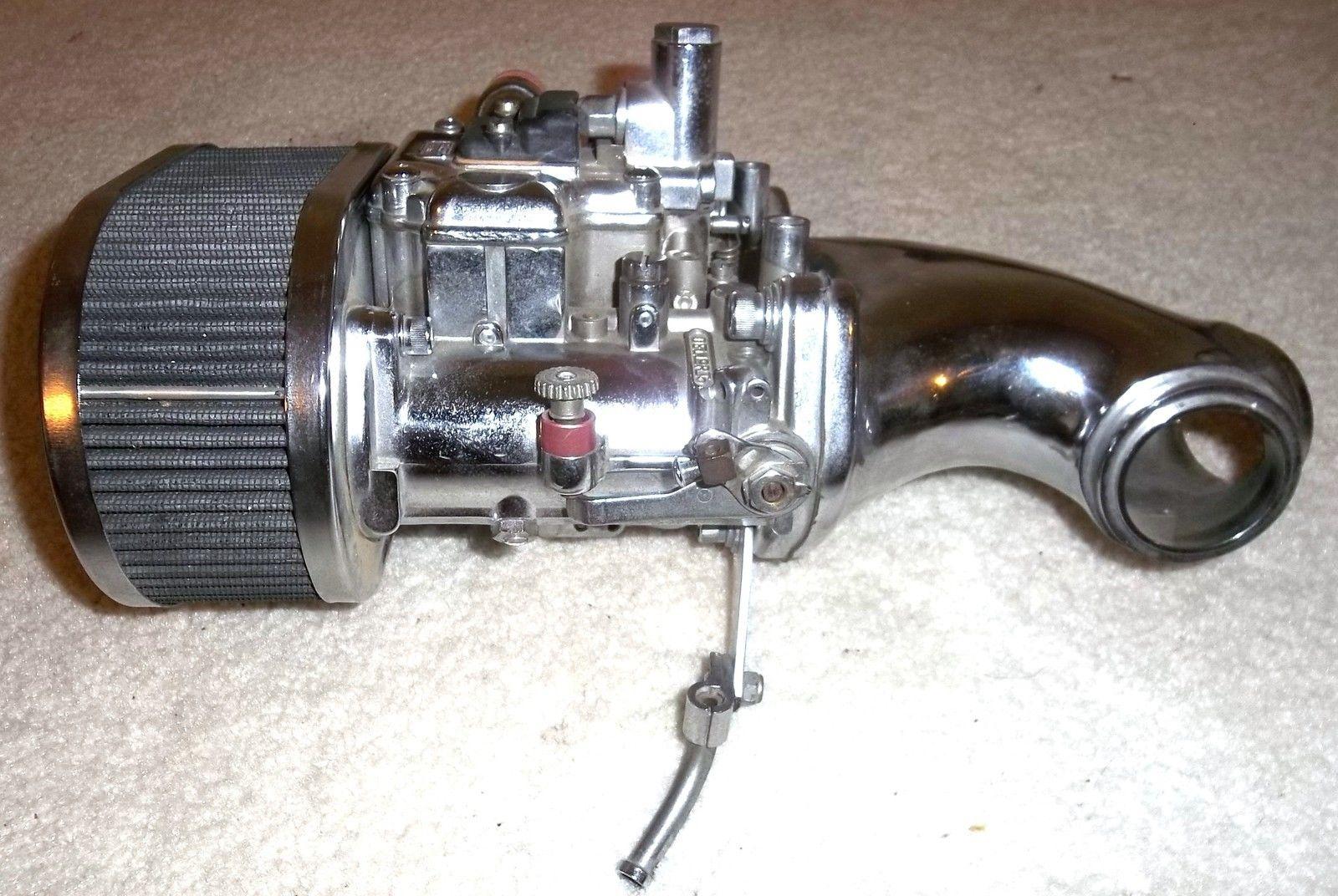 Digger Chopper DUAL THROAT DELLORTO CARBURETOR Ironhead Shovelhead