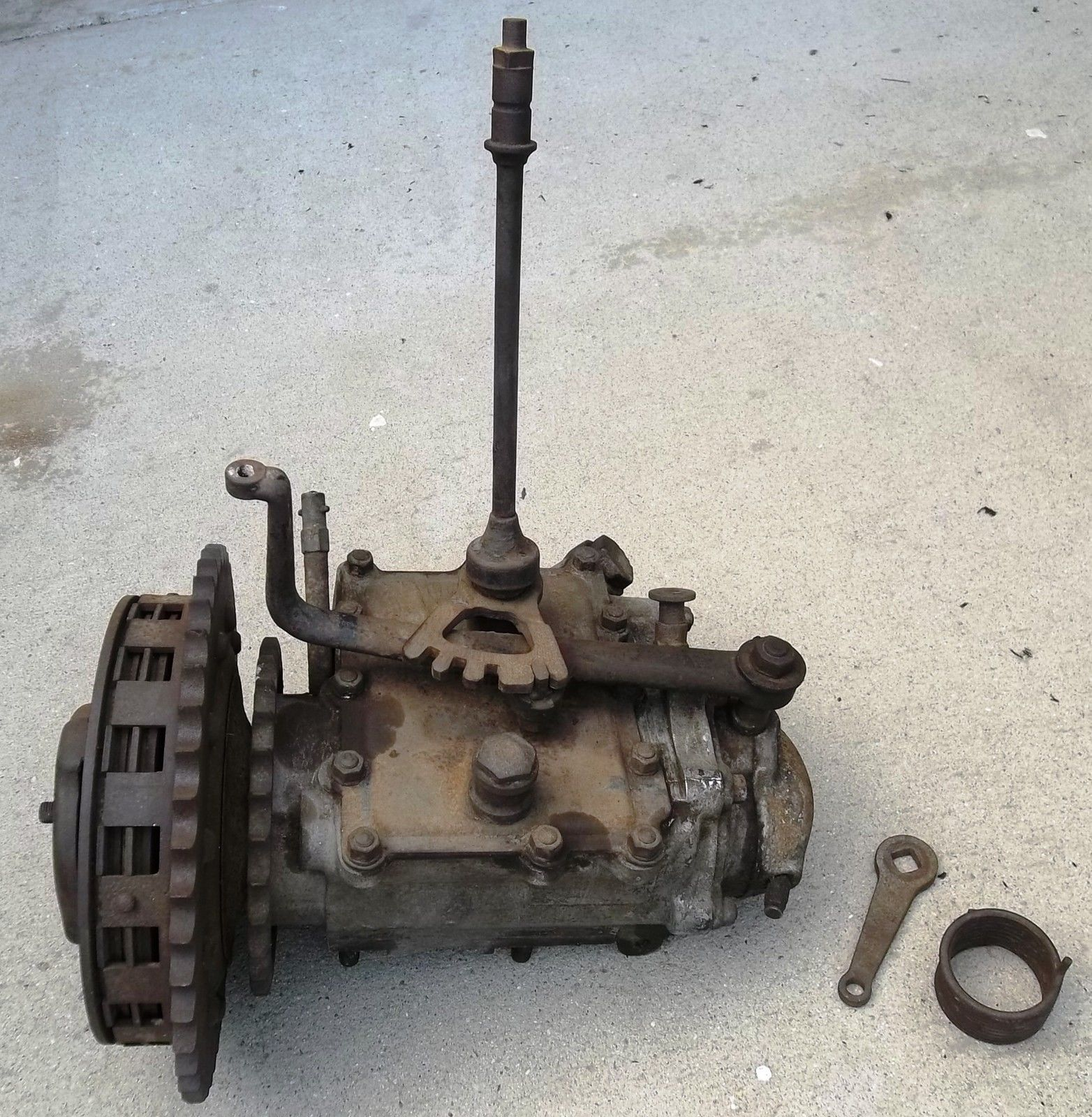 1928 1929 oem harley davidson jd 3 speed transmission j vl