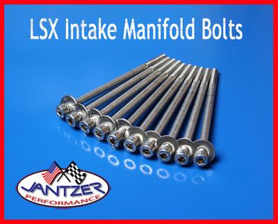 LS1 INTAKE MANIFOLD BOLTS STAINLESS STEEL KIT LSX LS2 LS3 LS6 CAMARO CORVETTE GM