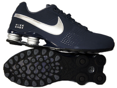 nike shox deliver mens gray