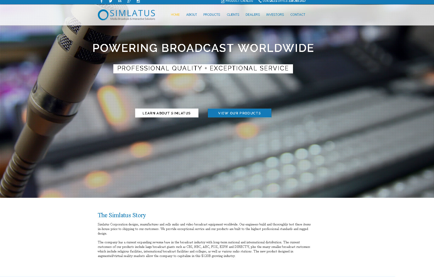 Simlatus corporation siml stock message board investorshub the company has a current expanding revenue base in the broadcast industry with long term national and international distribution the current customers of buycottarizona Gallery