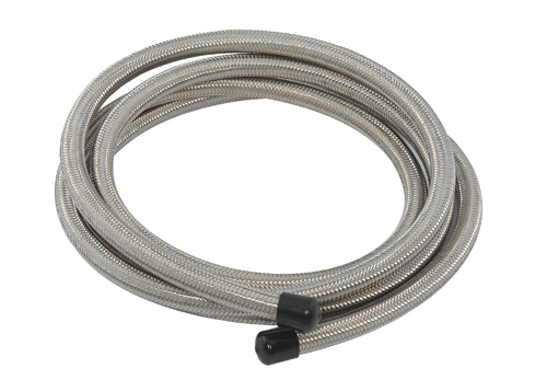 Braided Coolant Lines : Stainless steel braided fuel coolant oil line an