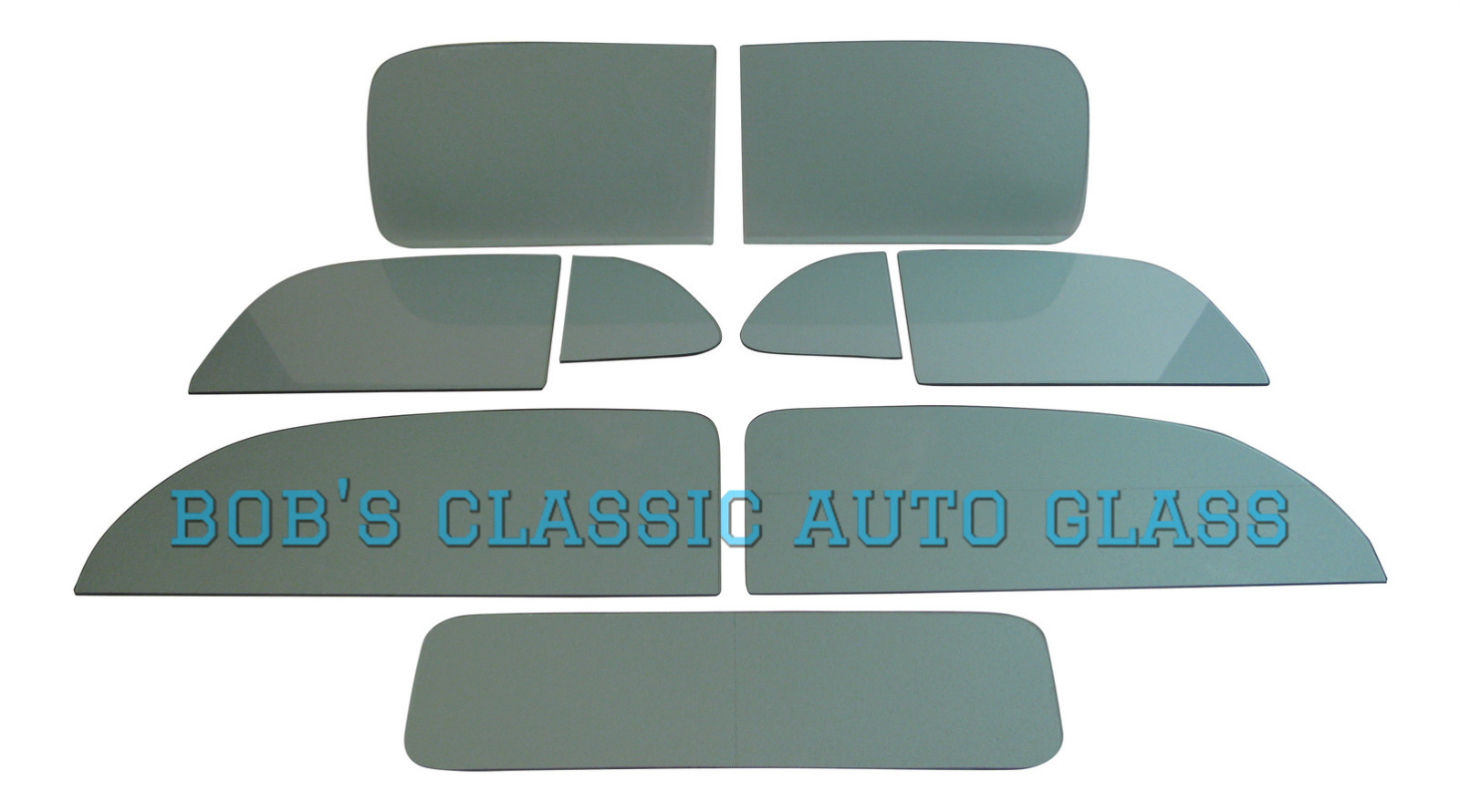 1939 CHEVROLET 2 DOOR SEDAN CLASSIC AUTO GLASS VIN