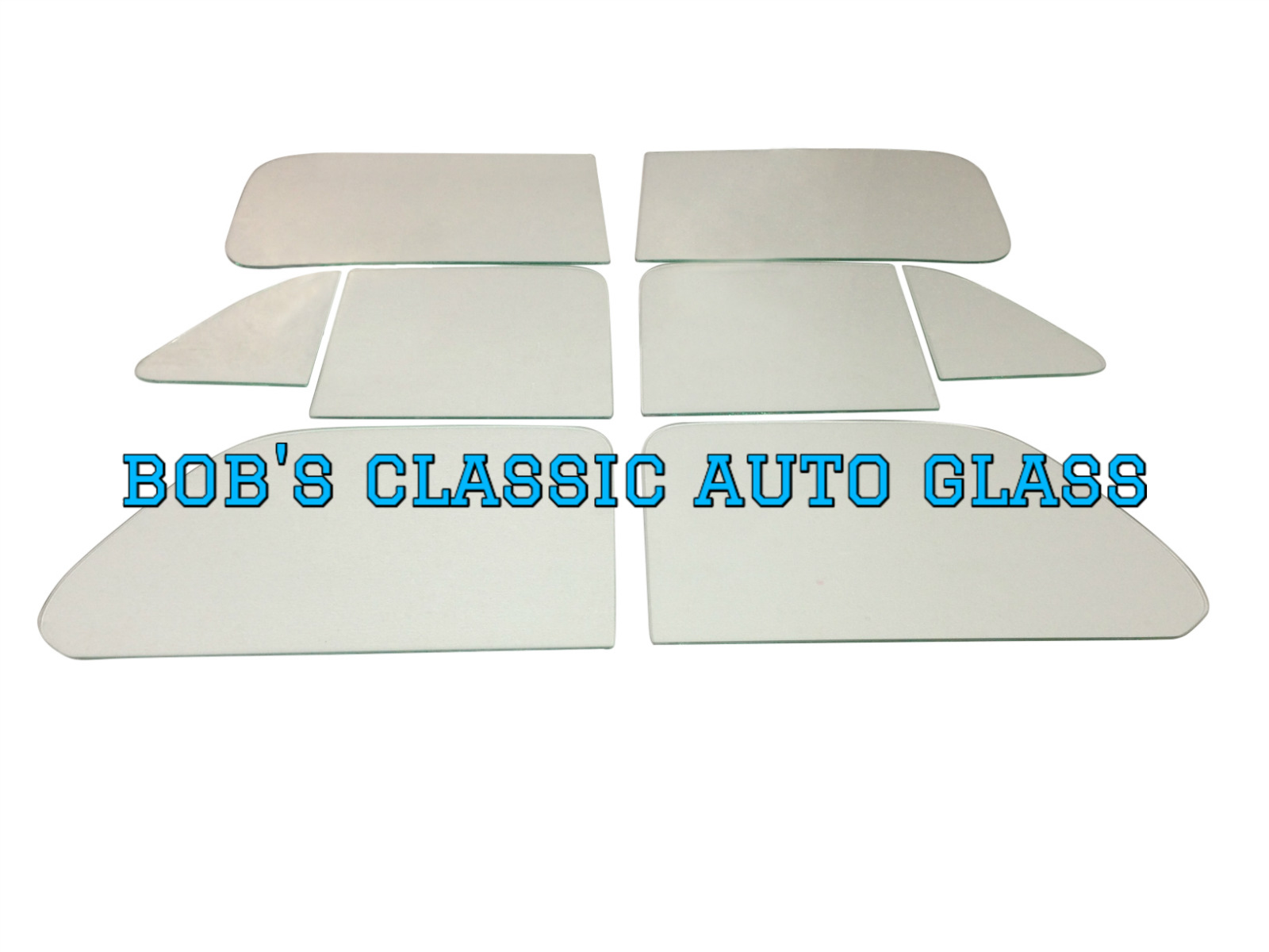 1946 Desoto Deluxe 2 Door Sedan Auto Glass Kit NE