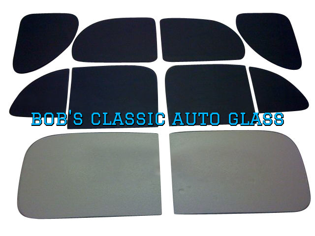 1941 HUDSON 4 DOOR SEDAN CLASSIC AUTO GLASS VINTAG