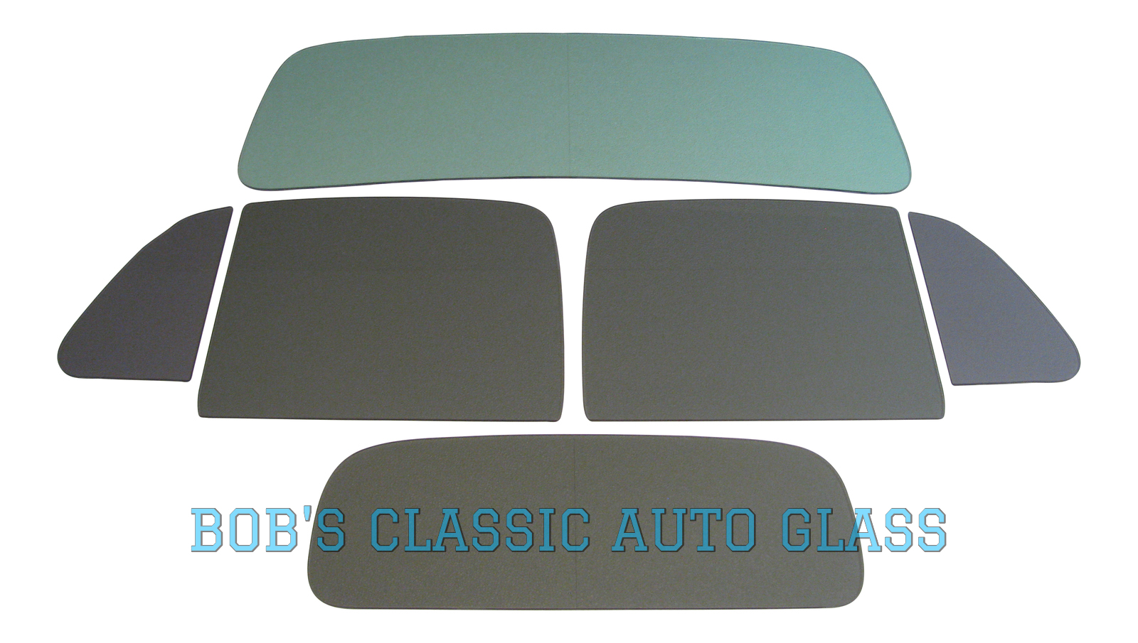 1949 WHITE TRUCK CONVENTIONAL CAB FLAT GLASS KIT C