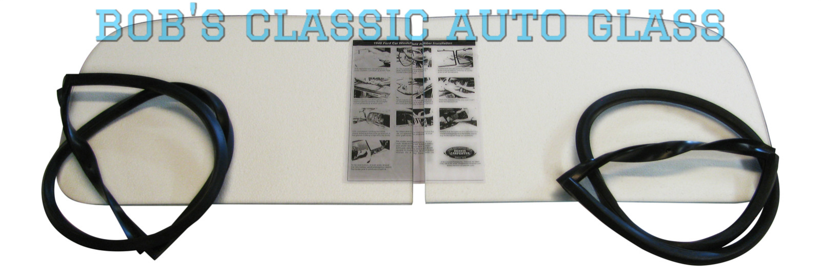 1940 Ford Coupe Tudor Fordor Truck 2pc Windshield