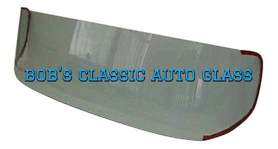 1951 Hudson 2 Or 4 Door Sedan Back Glass Vintage A