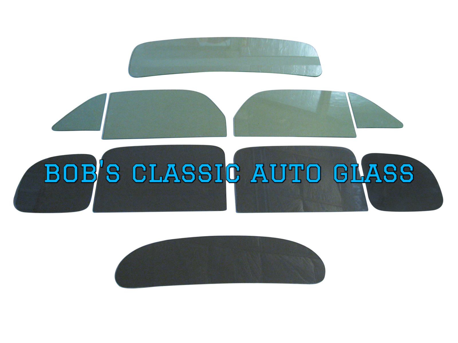 1937 Dodge D5 4 Door Sedan Classic Auto Glass Kit