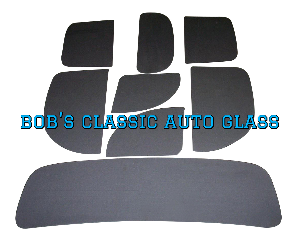 1932 FORD 4 DOOR SEDAN WINDOWS CLASSIC AUTO GLASS