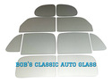 1937 1938 PONTIAC PLAIN BACK 2DR SEDAN GLASS AUTO