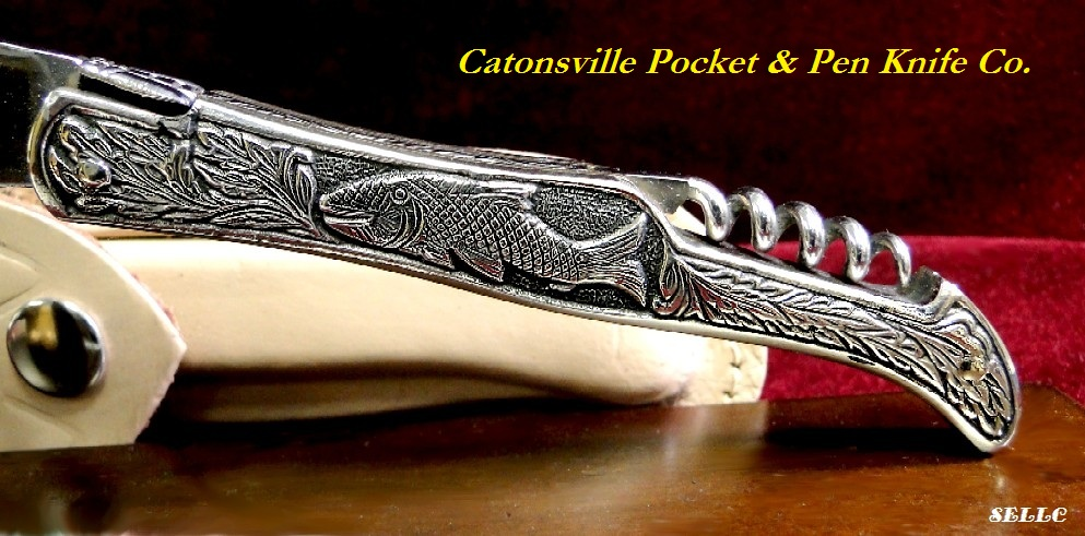 Catonsville Pocket Amp Pen Knife Co Fighter Plus Cast