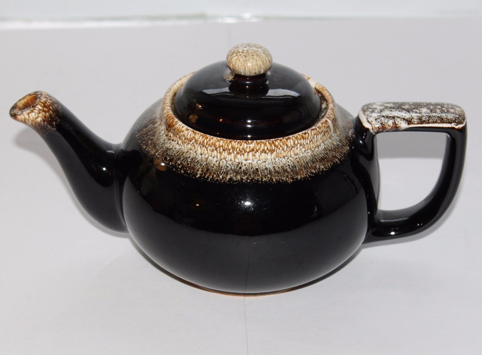 1950's PFALTZGRAFF Gourmet BROWN DRIP #550 Tea Pot