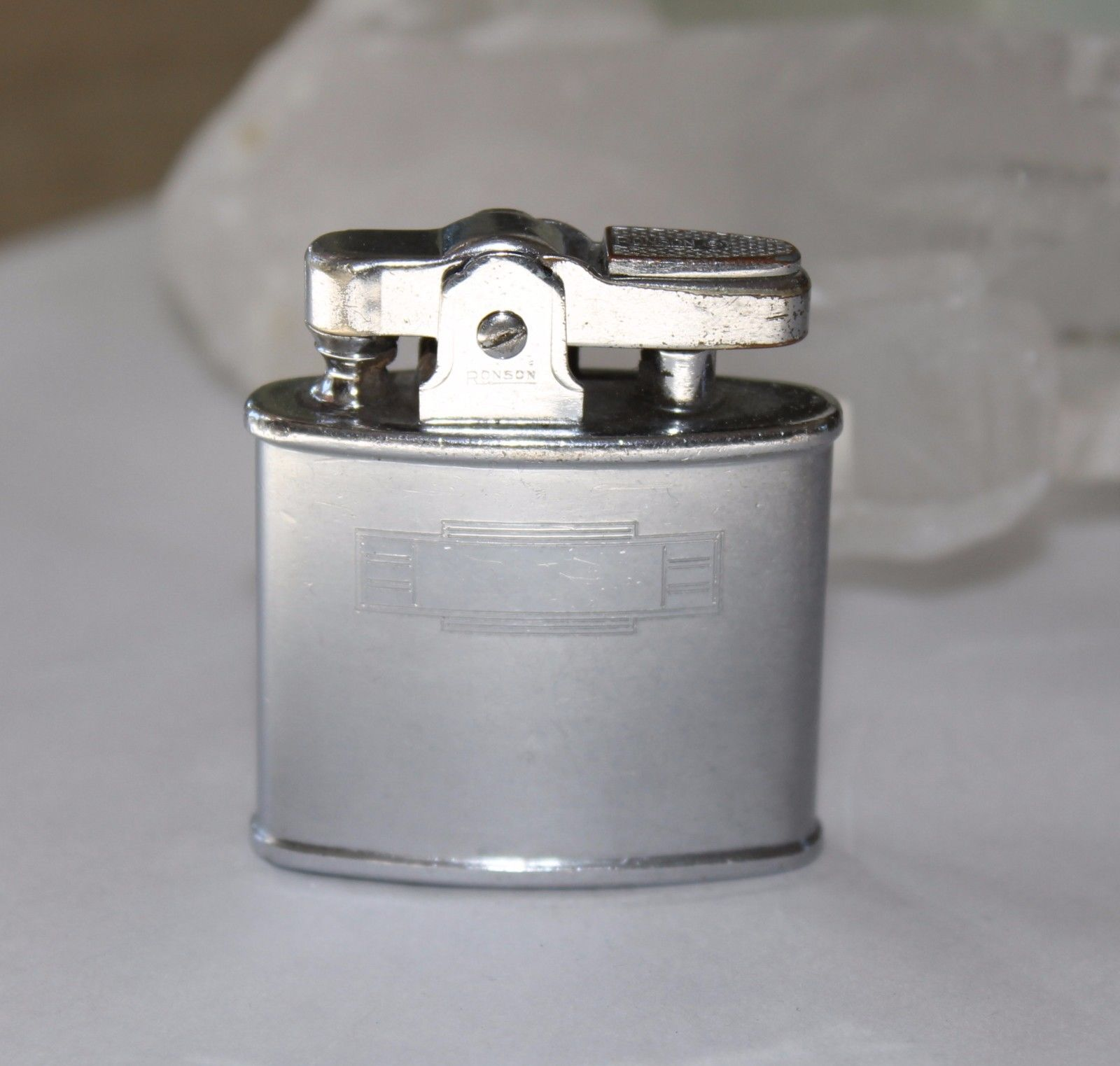 Vintage RONSON STANDARD Lighter Monogrammable