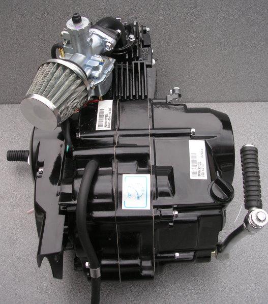 lifan 110cc 4 speed semi automatic pit bike engine f p ebay. Black Bedroom Furniture Sets. Home Design Ideas