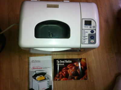 telemetrics com sunbeam expressbake breadmaker 2 lb bread machine Sunbeam Bread Maker Directions Sunbeam Bread Maker Recipe Book