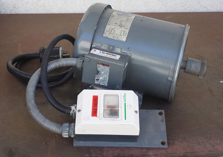 5hp Leeson C184t17fk14e Cat Electric Motor