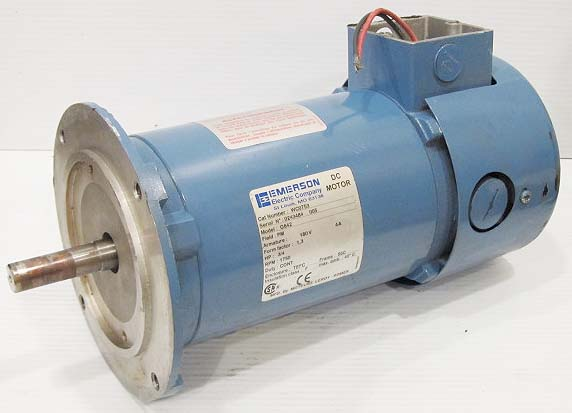 Emerson electric co wc0753 1 3 hp dc motor 5 8 shaft for 3 hp dc electric motor