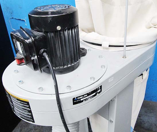 DELTA 50-775 BAG TYPE DUST COLLECTOR 1 HP SINGLE PHASE