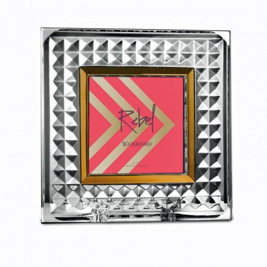 Marco de fotos de cristal de Waterford Rebel 4x4in Nuevo/Caja   eBay