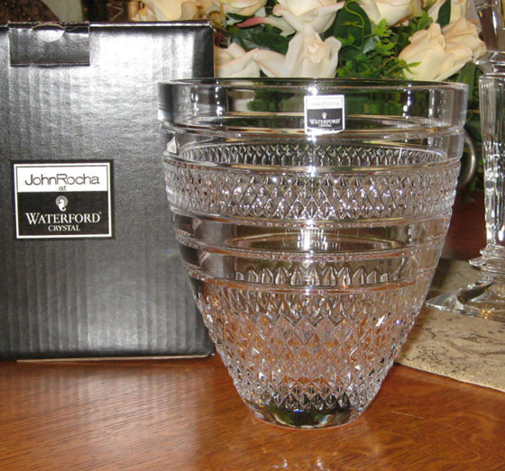 Waterford John Rocha Voya Bouquet Vase New Boxed Ebay