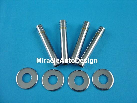 Stainless steel chrome door lock pin set for mercedes benz for Mercedes benz door lock pins