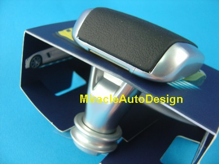 Free shipping black silver sls style shift knob mercedes for Mercedes benz shift knob replacement