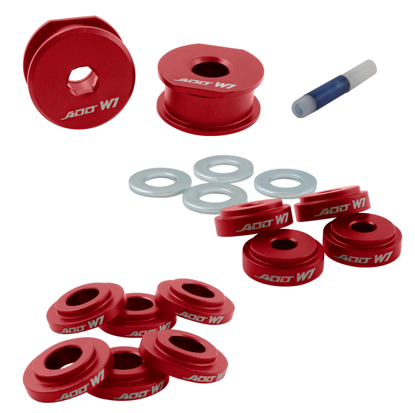 ADD W1 shifter BASE bushings+CABLE BRACKET+CABLE bushings FOR Ford Focus ST /& RS