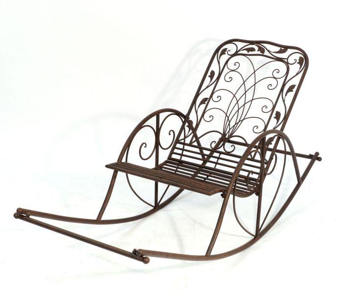 schaukelstuhl puerto 18355 liegestuhl aus metall sessel. Black Bedroom Furniture Sets. Home Design Ideas