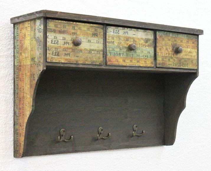 Armadio da parete 59cm loft 12050 armadio mensola vintage for Costo per aggiungere garage e stanza bonus