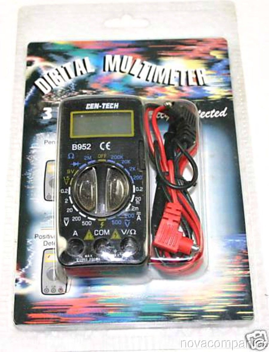 Digital Multi Meter New In Package Check Your Volts Nova Tanning Bed Wiring