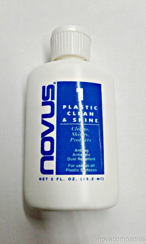 Novus plastic polish #1 2oz bottle