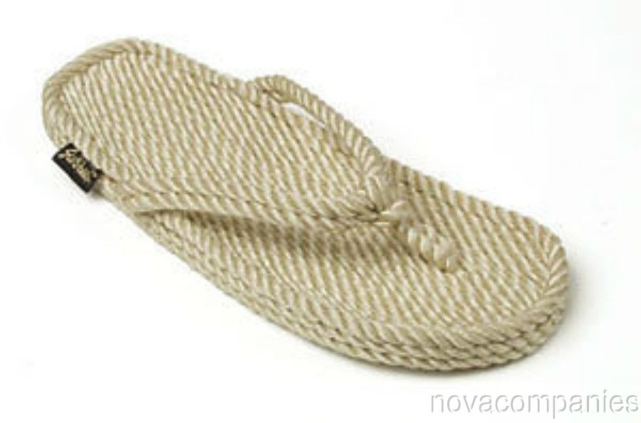 Gurkees Rope Sandals - Tobago Beige Mens 9 Gurkee