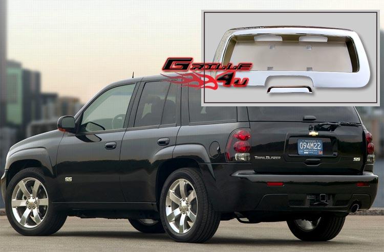 Chrome Rear License Plate Frame cover (Pic's?) - Chevy TrailBlazer, TrailBlazer SS and GMC Envoy ...