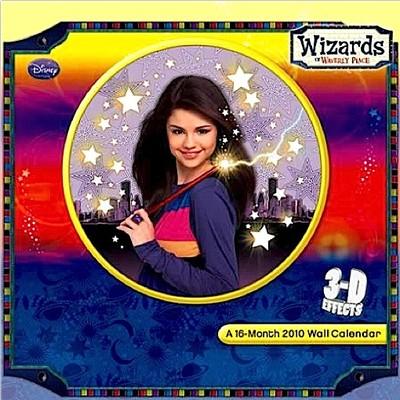 selena gomez 3d holograph calendar disney wizards of waverly place