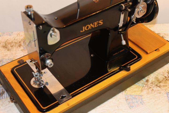 jones sewing machine manual free
