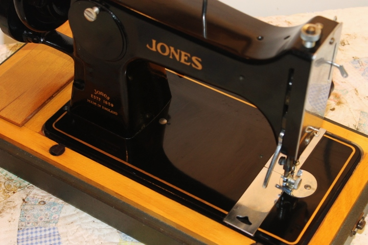 jones sewing machine manual free