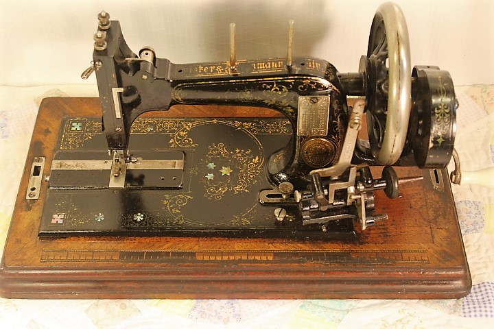 FRISTER ROSSMANNHAND CRANK SEWING MACHINE4040 EBay Classy Hand Crank Sewing Machines For Sale