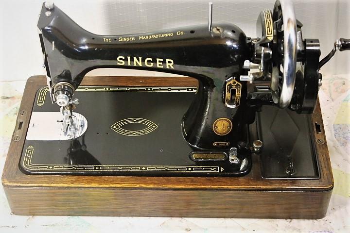 40SINGER HAND CRANK SEWING MACHINEMODEL 40SEWS VG EBay Impressive Singer Hand Crank Sewing Machine
