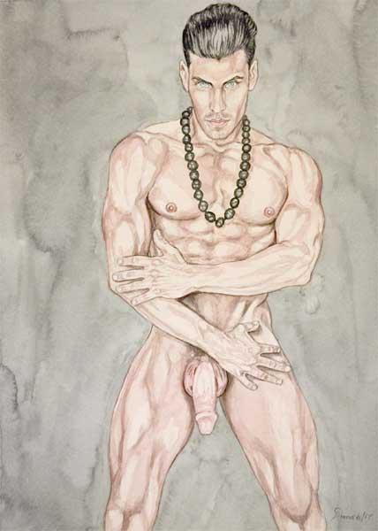 Freier Junge nu, Teen nackt am Morgen
