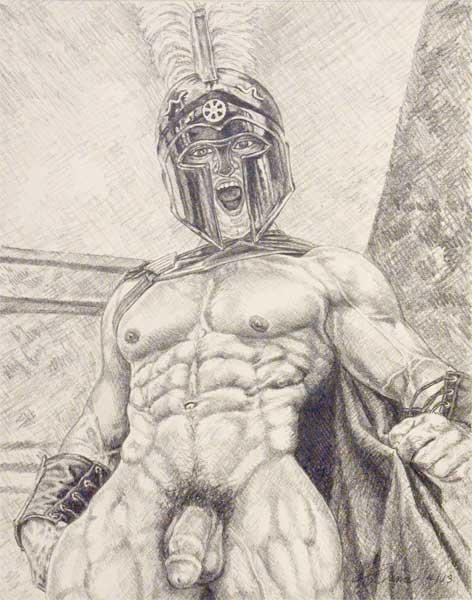 Hot Gay Drawings 12