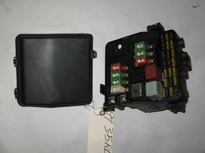 acura tl oem under hood fuse box fuses and relays 96 02 acura 3 5rl oem under hood fuses box