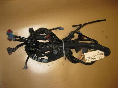 99 00 01 02 saab 9 3 engine motor wiring harness turbo part this is a engine wiring harness removed from a 2002 saab 9 3 turbo convertible automatic transmission one of the clip locks is broken otherwise it is