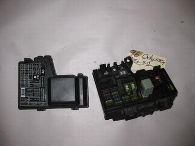 95-98 honda odyssey oem under hood fuse box with fuses ... 95 accord under hood fuse box under hood fuse box cover